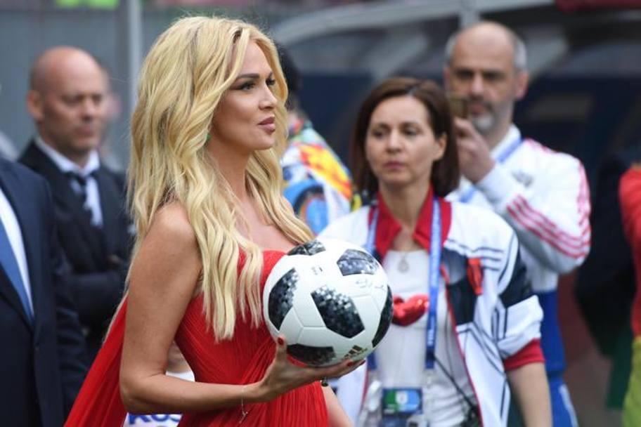 La modella russa Victoria Lopyreva. AFP