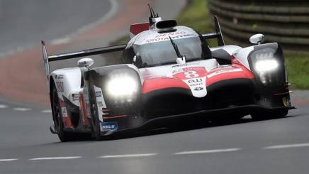 La Toyota è scatenata in qualifica a Le Mans. Afp