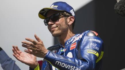 Valentino Rossi, nove titoli nel Motomondiale. Getty