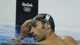 Filippo Magnini, 36 anni, pesarese, ex bicampione del mondo. Ap