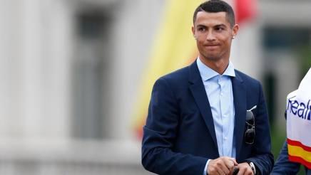 Il fuoriclasse portoghese del Real Madrid Cristiano Ronaldo, 33 anni. Afp
