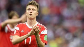 Aleksandr Golovin, 22 anni, centrocampista della Russia e del Cska. LaPresse