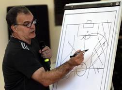 Il tecnico argentino Marcelo Bielsa, 62 anni. Getty