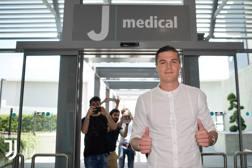 L'attaccante della Juve Andrea Favilli, 21 anni