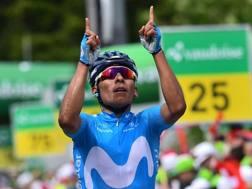 Nairo Quintana, 28 anni. AP