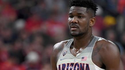 DeAndre Ayton ha giocato al college con Arizona. Afp