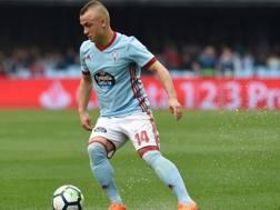 Il centrocampista slovacco del Celta Vigo Stanislav Lobotka, 23 anni. Afp