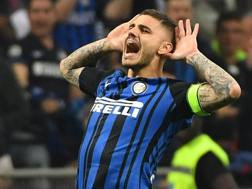 Mauro Icardi, 25 anni, attaccante dell'Inter. Ansa
