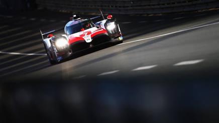 La Toyota di Mike Conway, Kamui Kobayashi e Jose Maria Lopez. Getty