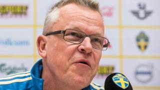 Janne Andersson. AFP