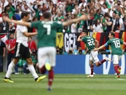 Il Messico esulta. Getty