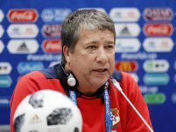 Hernan Gomez, allenatore di Panama. Epa