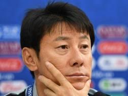 Shin Tae-Yong. AFP