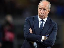 L'ex c.t. della Nazionale, Gian Piero Ventura 70 anni. Ansa