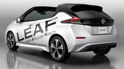 La Nissan Leaf Open Car