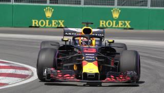 La Red Bull di Daniel Ricciardo. LaPresse