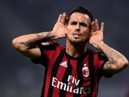 Suso, 24 anni, attaccante spagnolo del Milan. Afp