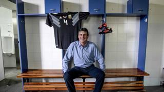 Mario Kempes, 63 anni, campione del mondo con l'Argentina nel 1978. Afp
