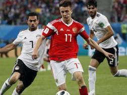 Aleksandr Golovin, 22 anni. Epa