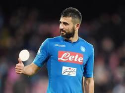 Raul Albiol, 32 anni, difensore del Napoli. Getty