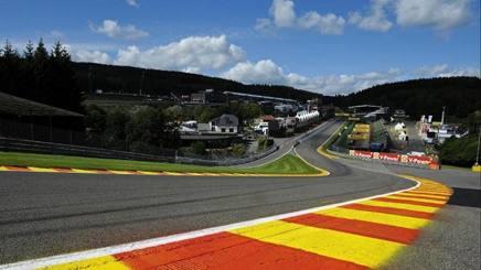 L'Eau Rouge, una delle curve più amate in Formula 1