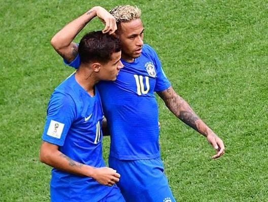 Festa Coutinho & Neymar Brasile,  2-0 e ottavi vicini La Costa Rica crolla al 90'