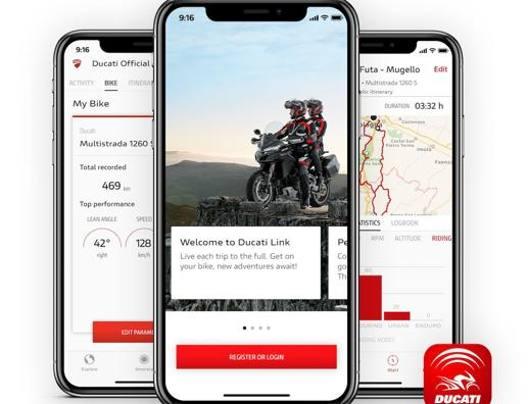 La Ducati Link App
