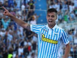 Alberto Grassi, 23 anni, centrocampista del Napoli. LaPresse