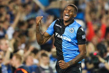 Wesley del Club Brugge. AFP