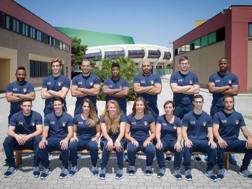 I 14 lottatori azzurri a Tarragona