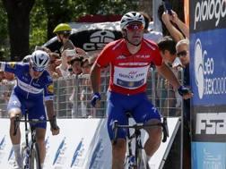 Elia Viviani, 29 anni, all'Adriatica-Ionica Race. Bettini