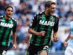 L'attaccante del Sassuolo Domenico Berardi, 23 anni. Ansa