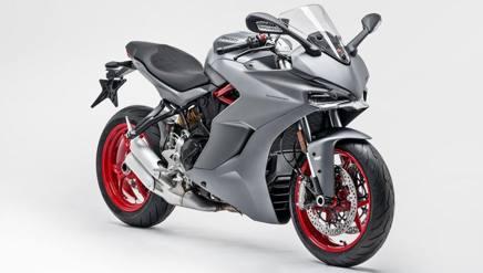 La Ducati SuperSport Titanium Grey
