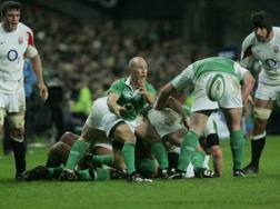 Peter Stringer con l'Irlanda