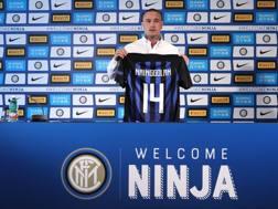 Radja Nainggolan, 30 anni, centrocampista dell'Inter. Getty