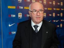 L'ex presidente della Fic Carlo Tavecchio. Ansa