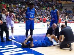 Hackett a terra a Trieste. CIAMILLO