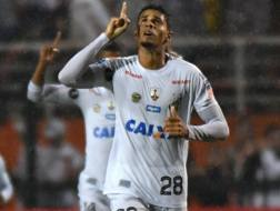 Il difensore del Santos Lucas Verissimo, 22 anni. Afp