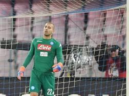 Luigi Sepe, 27 anni, portiere del Napoli. Getty