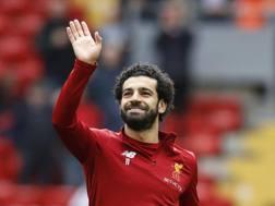 Mohamed Salah, 26 anni, 44 gol alla sua prima stagione a Liverpool. LaPresse
