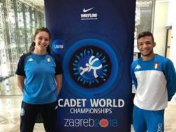 Laura Godino e Simone Vincenzo Piroddu a Zagabria per i Mondiali