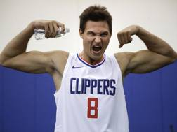 Danilo Gallinari con la maglia dei Clippers. Ap