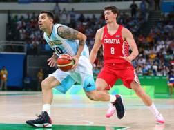 Carlos Delfino, 36 anni, con l'Argentina GETTY