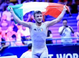 Simone Piroddu, medaglia di bronzo ai Mondiali cadetti di Zagabria