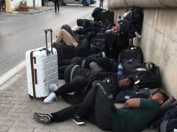 I giocatori dello Zimbabwe a Tunisi