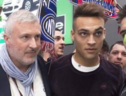Lautaro Martinez, 20 anni, attaccante dell'Inter. Getty