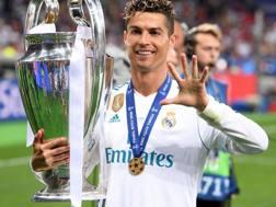 Cristiano Ronaldo, 33 anni, attaccante del Real Madrid. Getty