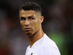 Cristiano Ronaldo ha dovuto dire addio al suo sogno Mondiale con la maglia del Portogallo. Getty Images