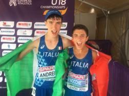 Aldo Andrei, argento, e Davide Finocchietti, oro