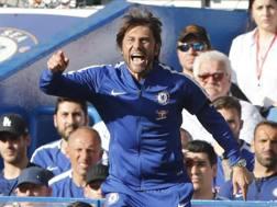 Antonio Conte, allenatore del Chelsea. Ansa